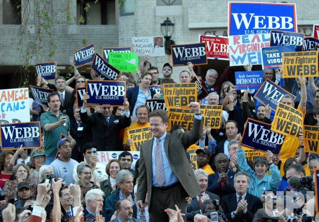 SEN. ALLEN CONCEDES VIRGINIA SEAT TO WEBB