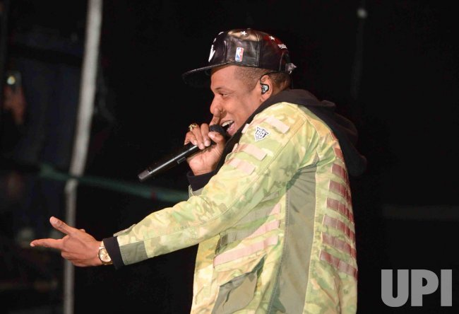 Jay-Z performs live at Hackney Weekend
