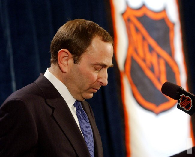 NHL COMMISSIONER BETTMAN TERMINATES HOCKEY SEASON DUE TO LABOR DISPUTE