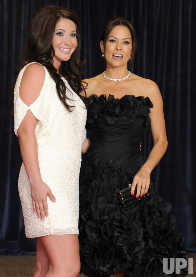 Bristol Palin and Brooke Burke arrive for White House Correspondent's Assoc. in Washington DC