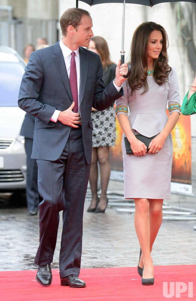 "Prince William and Catherine attend the UK premiere of ""African Cats"" in London"