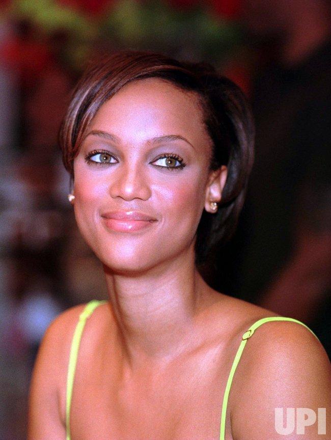 Super Model Tyra Banks Upi Com