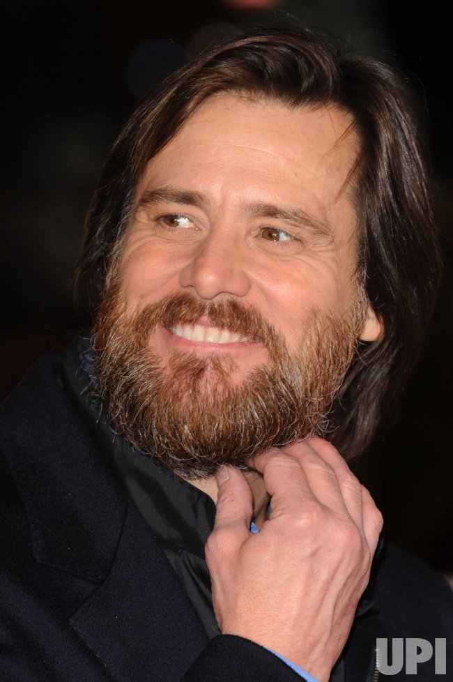 Christmas Carol Jim Carrey.Jim Carrey Attends A Christmas Carol Premiere In London