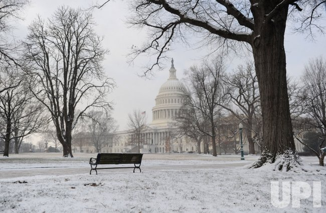 Snow Storm hits Washington, DC