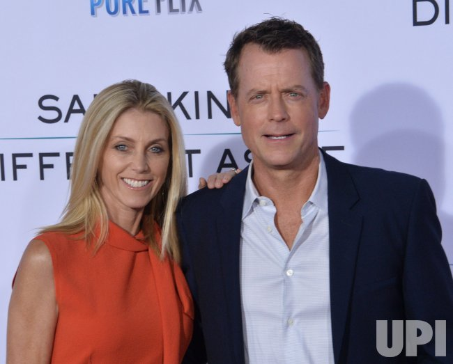 "Greg Kinnear and Helen Labdon attend the ""Same Kind of Different as Me"" premiere in Los Angeles"