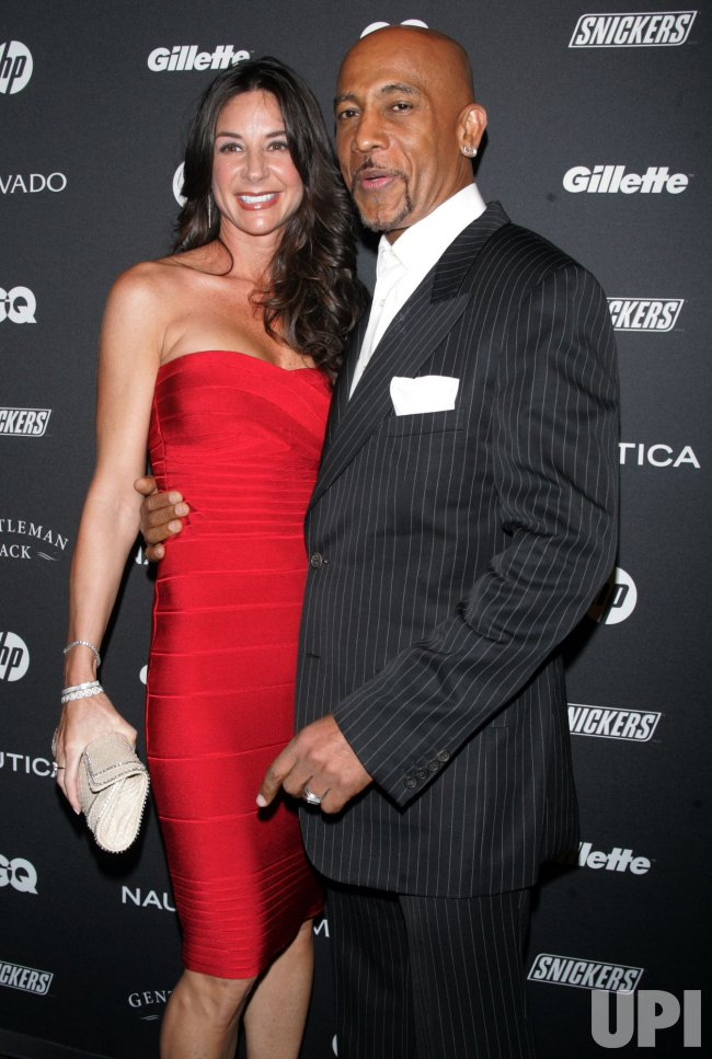 Montel Williams arrives for the GQ Gentlemen's Ball in New York