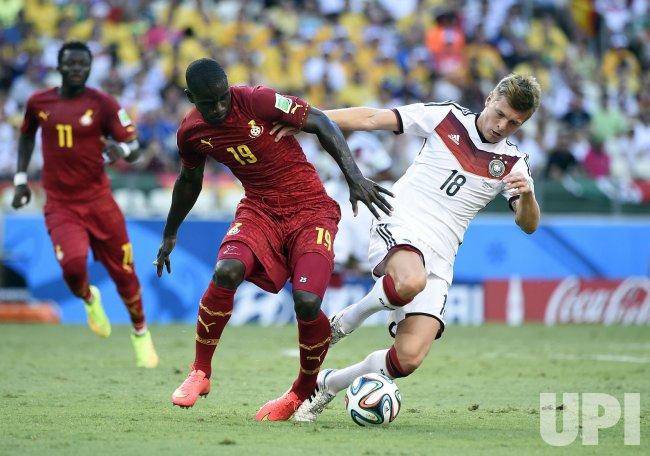 2014 FIFA World Cup Group G - Germany v Ghana