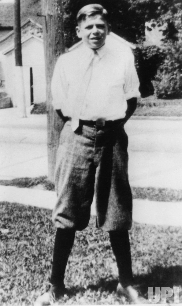 RONALD REAGAN AT AGE 12 IN DIXON, ILLINOIS