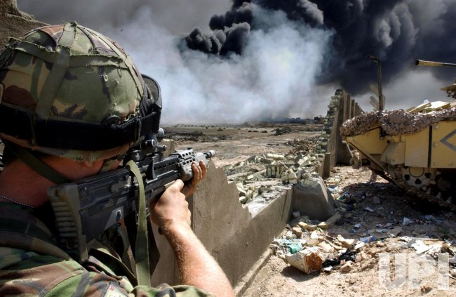 WAR IN IRAQ
