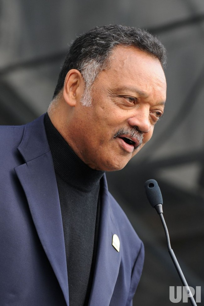 Rev. Jesse Jackson at the Climate Rally Earth Day Concert in Washington