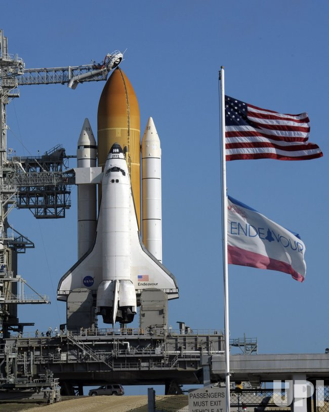 NASA's space shuttle Endeavour prepares for launch from ...