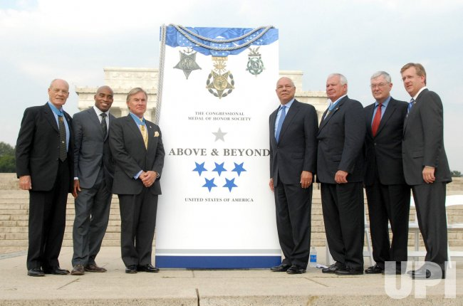 Above and Beyond Citizen Honors award announcement in Washington