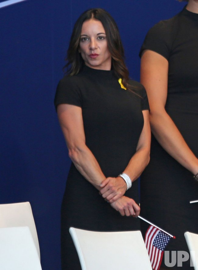 Erica Herman at the Ryder Cup 2018 Opening Ceremony - UPI.com