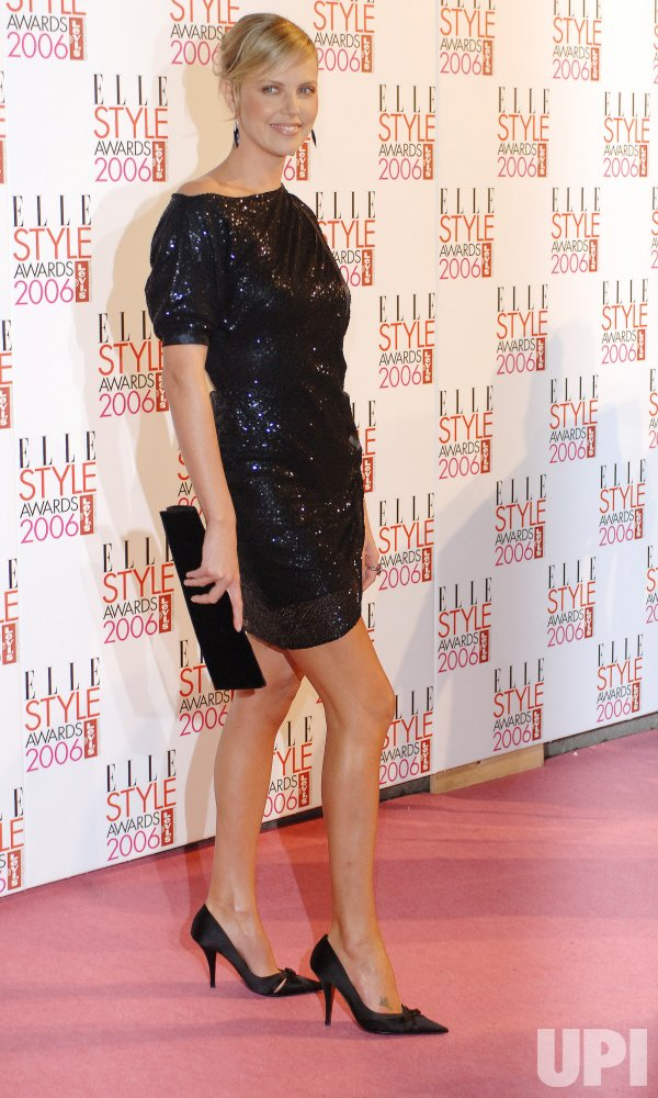 "ACTRESS CHARLIZE THERON AT ""ELLE STYLE AWARDS"""