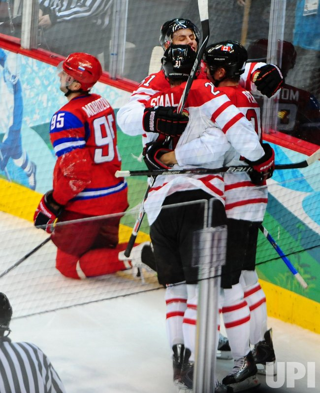 Canada vs. Russia Men's Ice Hockey at 2010 Winter Olympics in Vancouver