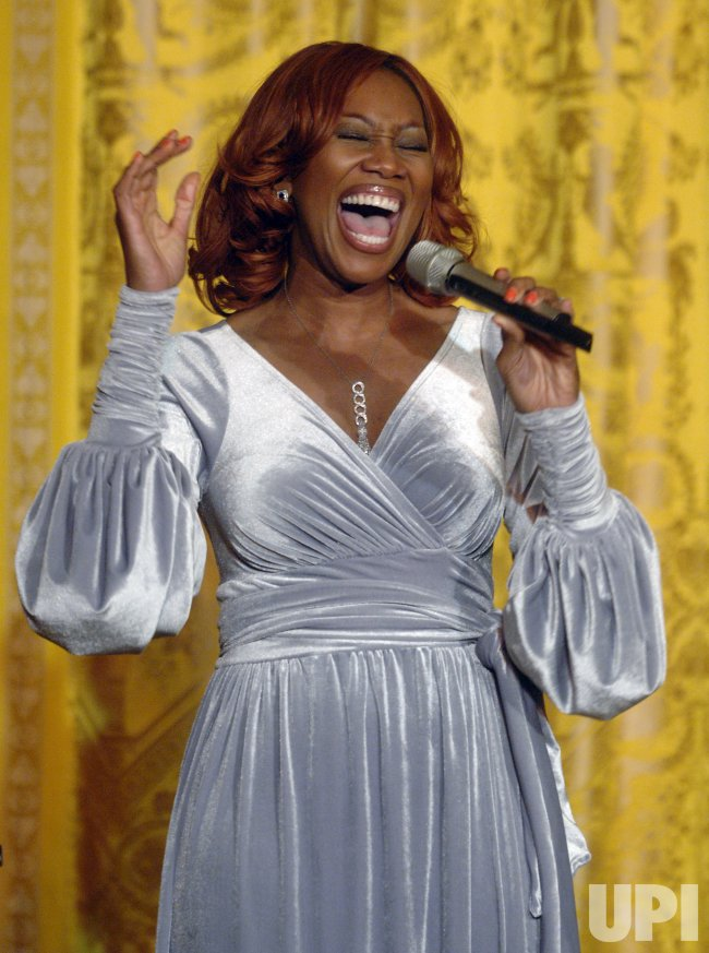 YOLANDA ADAMS PERFORMS FOR PRESIDENT BUSH