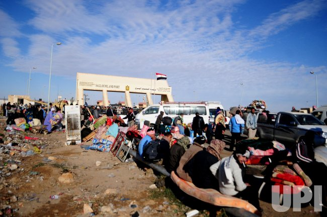 Sallum Border Crossing Egypt With Libya