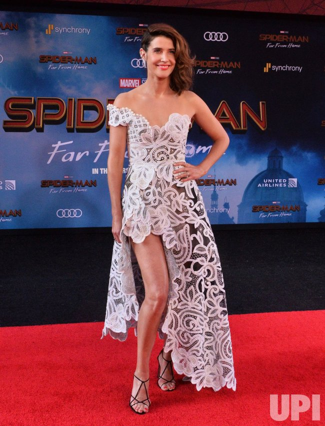 """Cobie Smulders attends the """"Spider-Man: Far From Home"""" premiere in Los Angeles"""