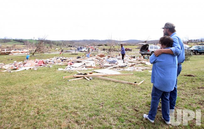 TORNADO KILLS TWO INJURES 17
