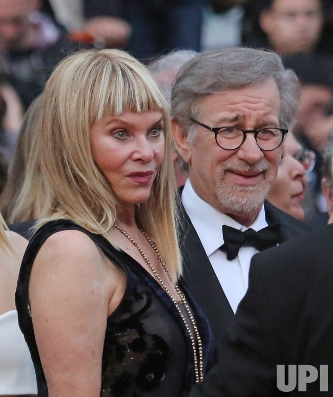 Kate Capshaw And Steven Spielberg Attend The Cannes Film Festival