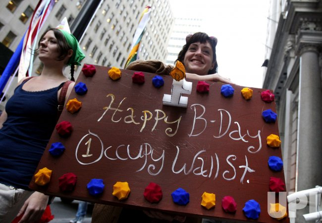 Occupy Wall Street 1st anniversary