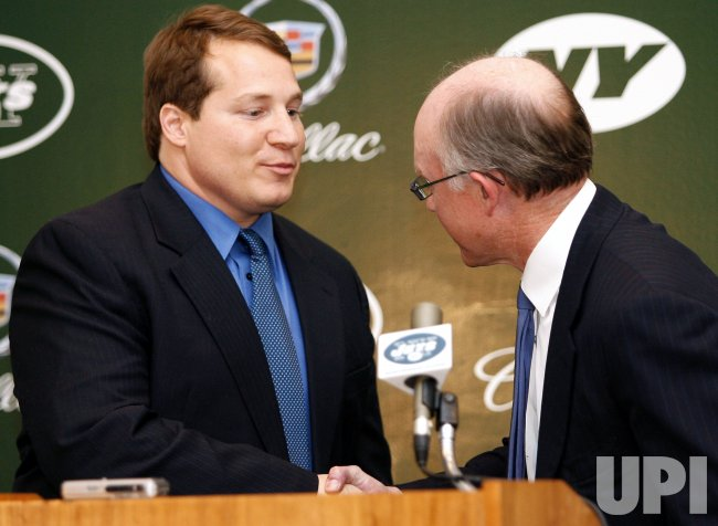 NEW JETS HEAD COACH ERIC MANGINI