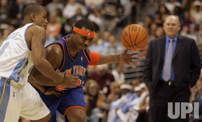 NBA NEW YORK KNICKS VS DENVER NUGGETS
