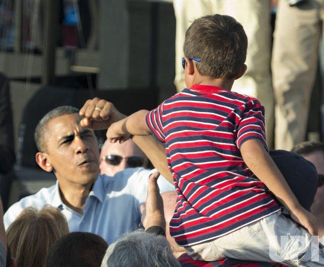 President Obama In Florida