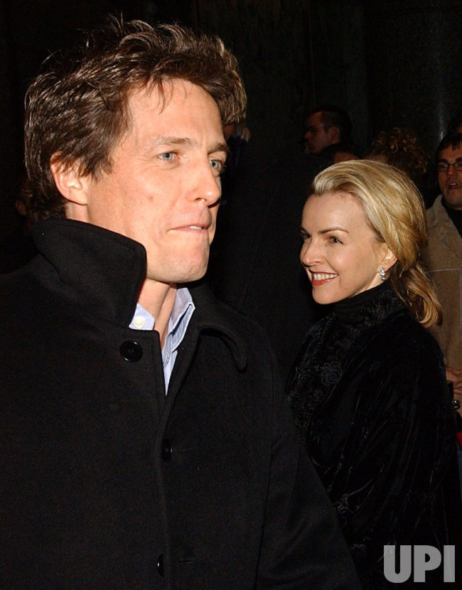 "Hugh Grant attends Broadway production of ""La Boheme"""