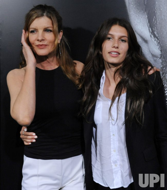 Rene russo and duaghter rose gilroy attend the premiere of quot warrior