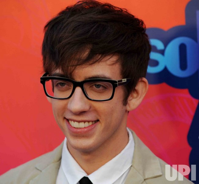 Kevin McHale attends the FOX All-Star Party in Santa Monica, California