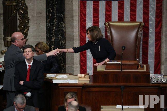U.S. House of Representatives Votes to Impeach President Trump