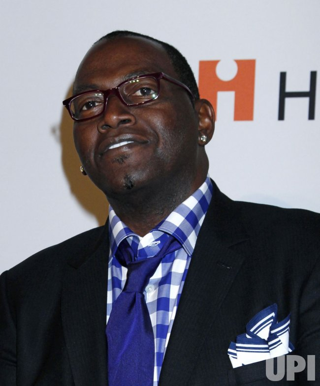 Randy Jackson arrives at the Clive Davis Pre-Grammy Gala in Beverly Hills