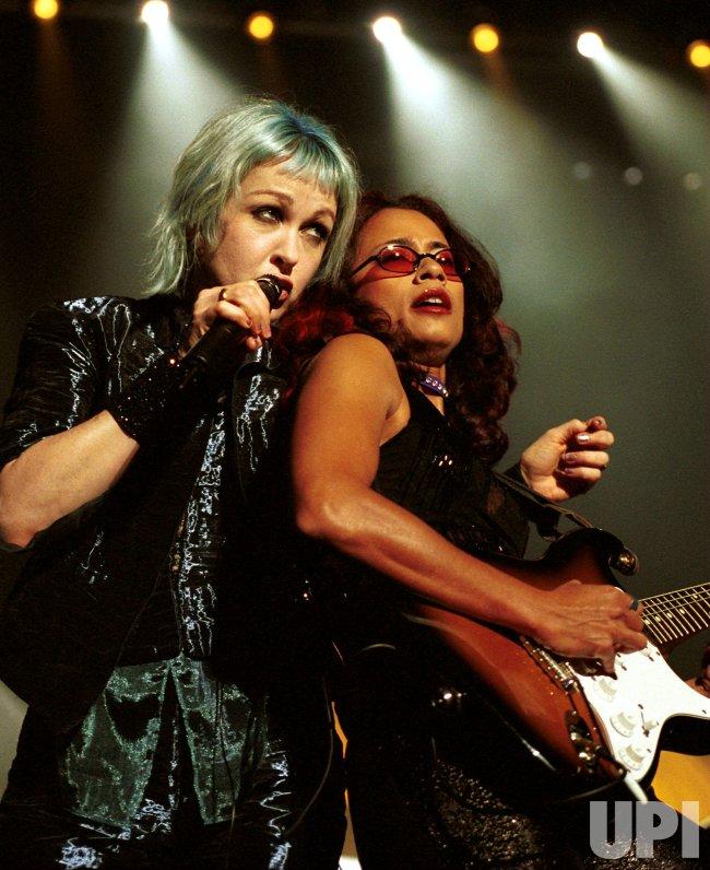 Cyndi Lauper opens Cher concert