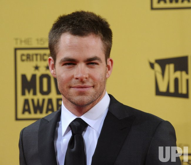 Chris Pine attends the 15th annual Critics' Choice Movie Awards in Los Angeles
