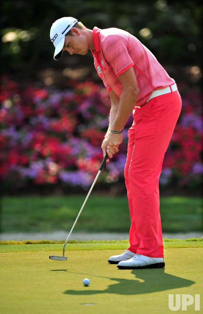 Henrik Stenson misses a par putt during the TPC Players in Florida