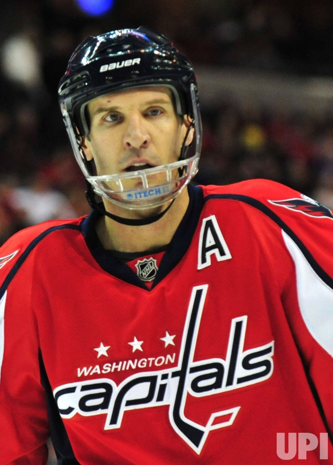 Washington Capitals' Mike Knuble in Washington