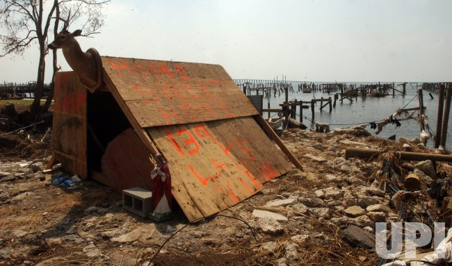 SLIDELL HOMES DEMOLISHED BY KATRINA