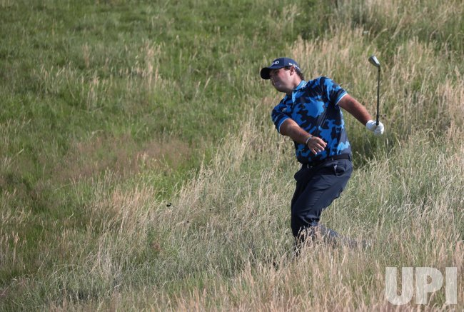 Patrick Reed at the Open Championship at Royal St Georges