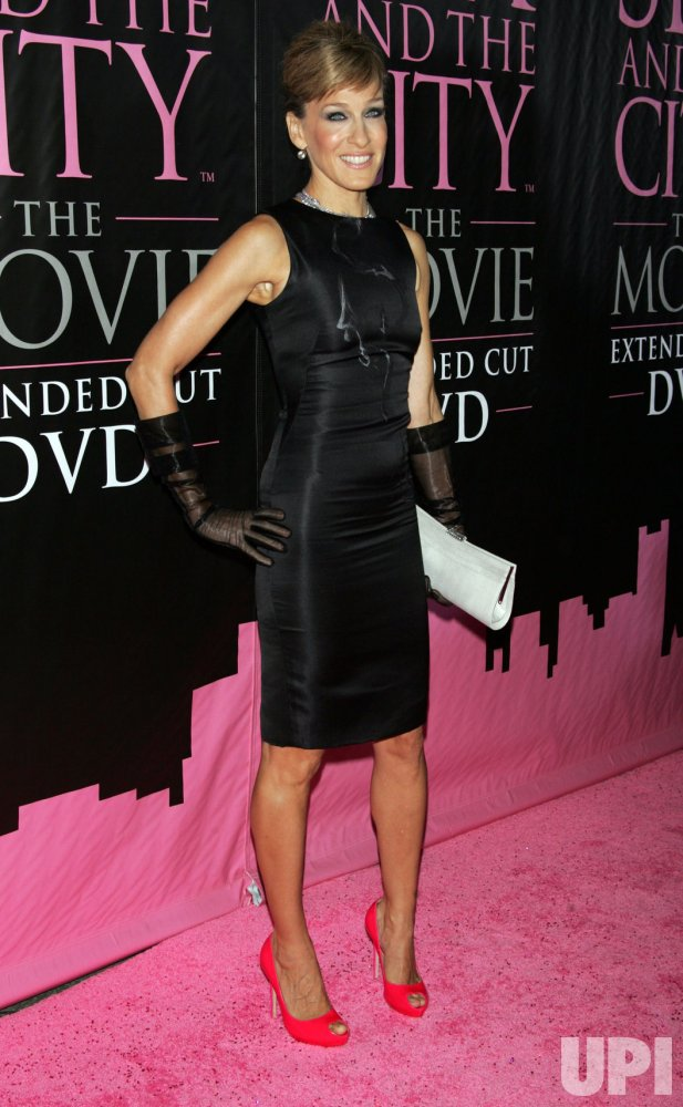 """Sex and the City: The Movie"" DVD launch in New York"