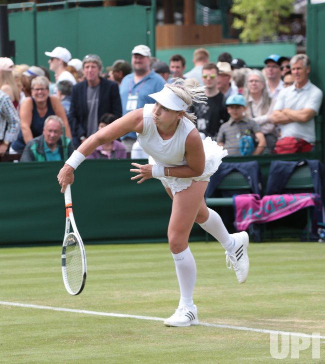 2017 Wimbledon Finals Brackets Back To The Future: Day Two Of The 2017 Wimbledon Championships In London
