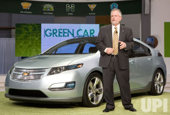 Chevy Volt at the Washington D.C. Auto Show