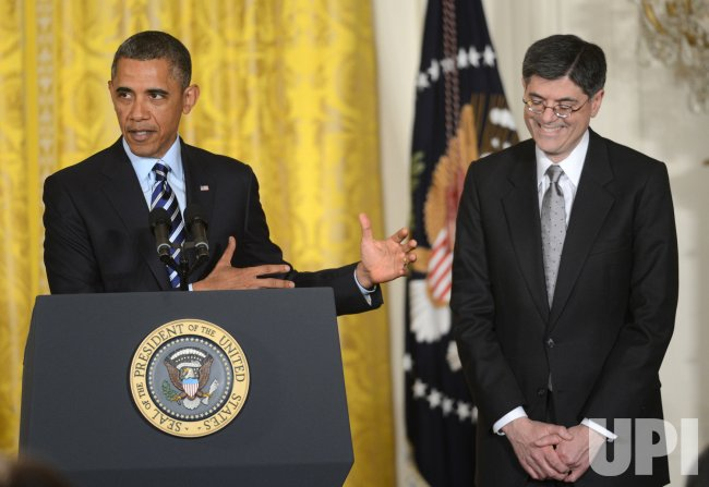 Obama Picks Lew as New Treasury Secretary
