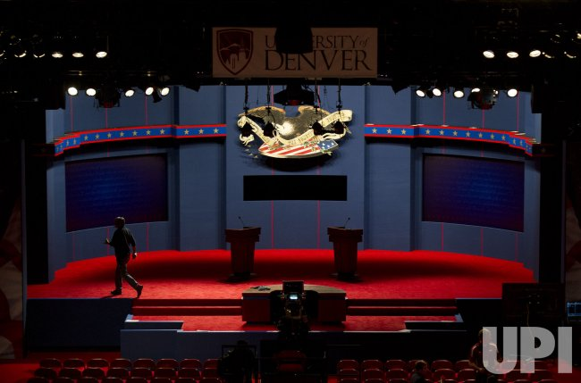 Presidential Debate on the Campus of the University of Denver, Colorado