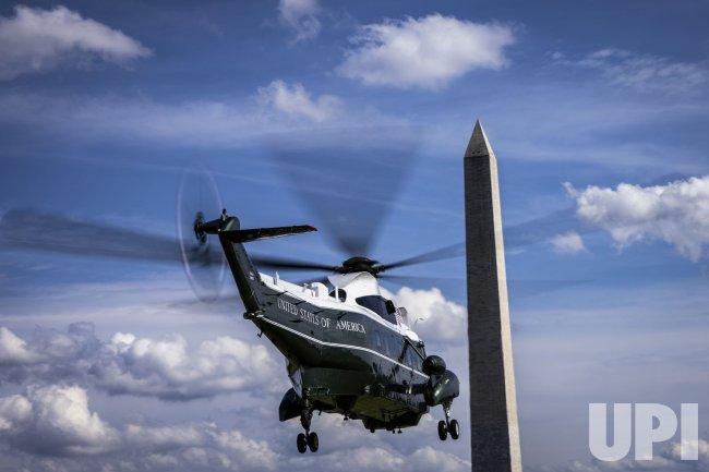 President Biden Departs from the White House
