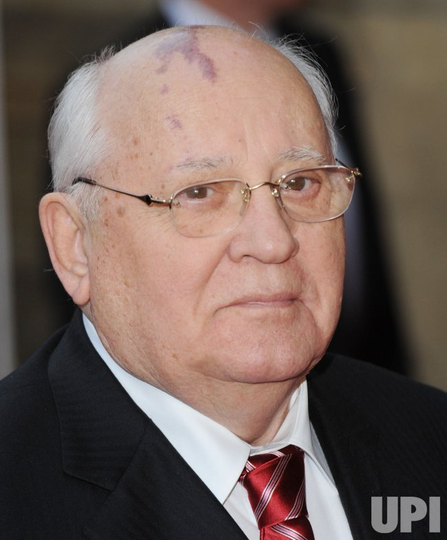 "Mikhail Gorbachev attends ""Gorby 80- Gala Concert"" in London"