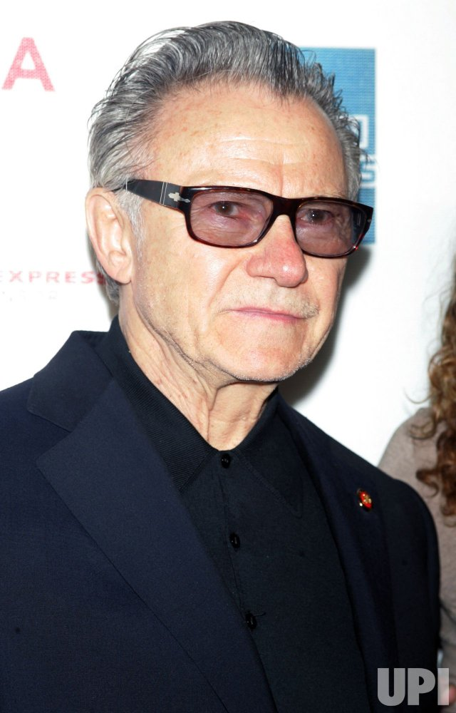 "Harvey Keitel arrives for the Premiere of ""Ondine"" at the Tribeca Film Festival in New York"
