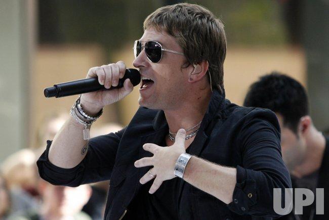 Rob Thomas Performs on the NBC Today Show in New York