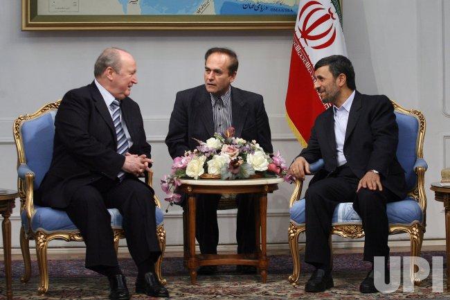 Syria's Parliamentary Speaker Mahmoud al-Abrashparliament visit Iran