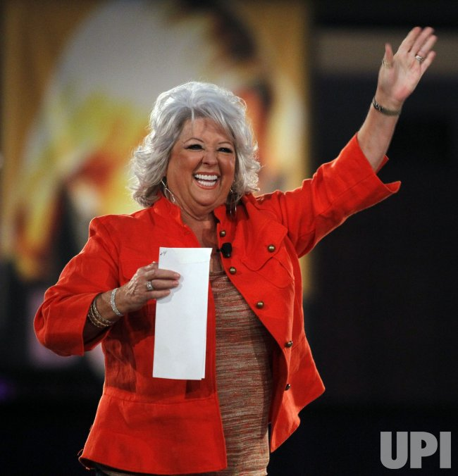 Paula Deen at Night of the Village in Long Beach
